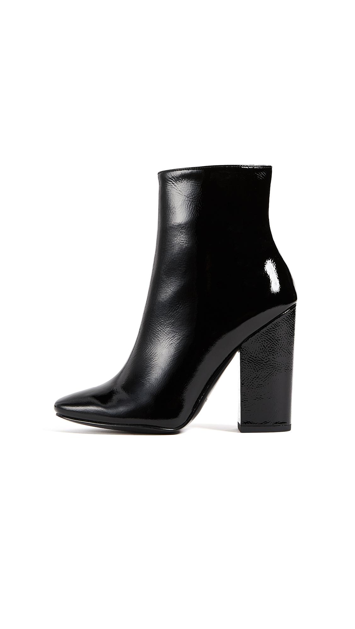 KENDALL + KYLIE Haedyn 2 Zip Booties - Black