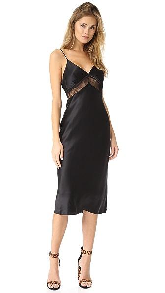 KENDALL + KYLIE Lace Slip Dress - Black