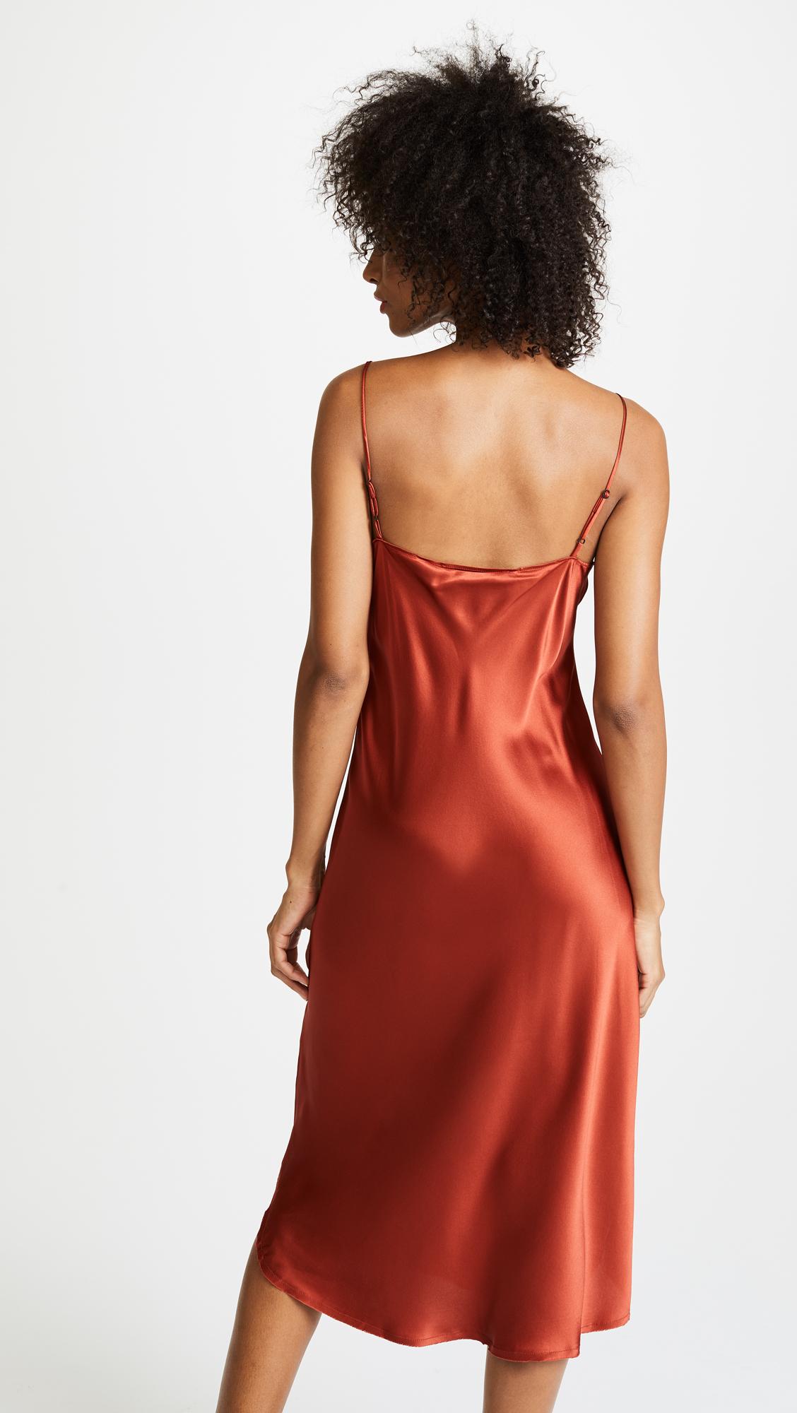 6080f4a6a2c10 KENDALL + KYLIE Silk Slip Dress | SHOPBOP