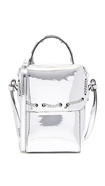 KENDALL + KYLIE Ally Cross Body Bag - Silver