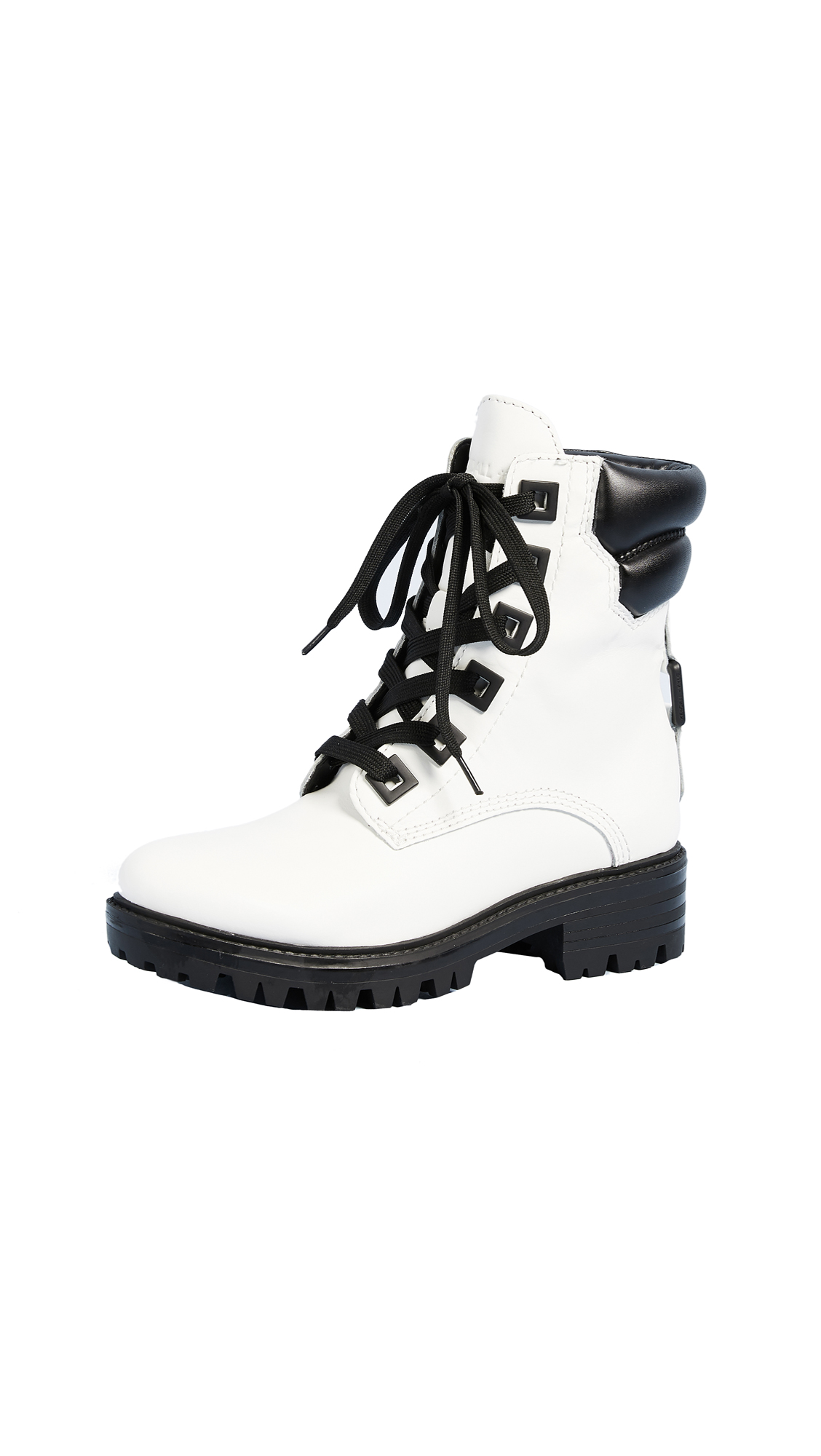 KENDALL + KYLIE East Hiker Boots - White