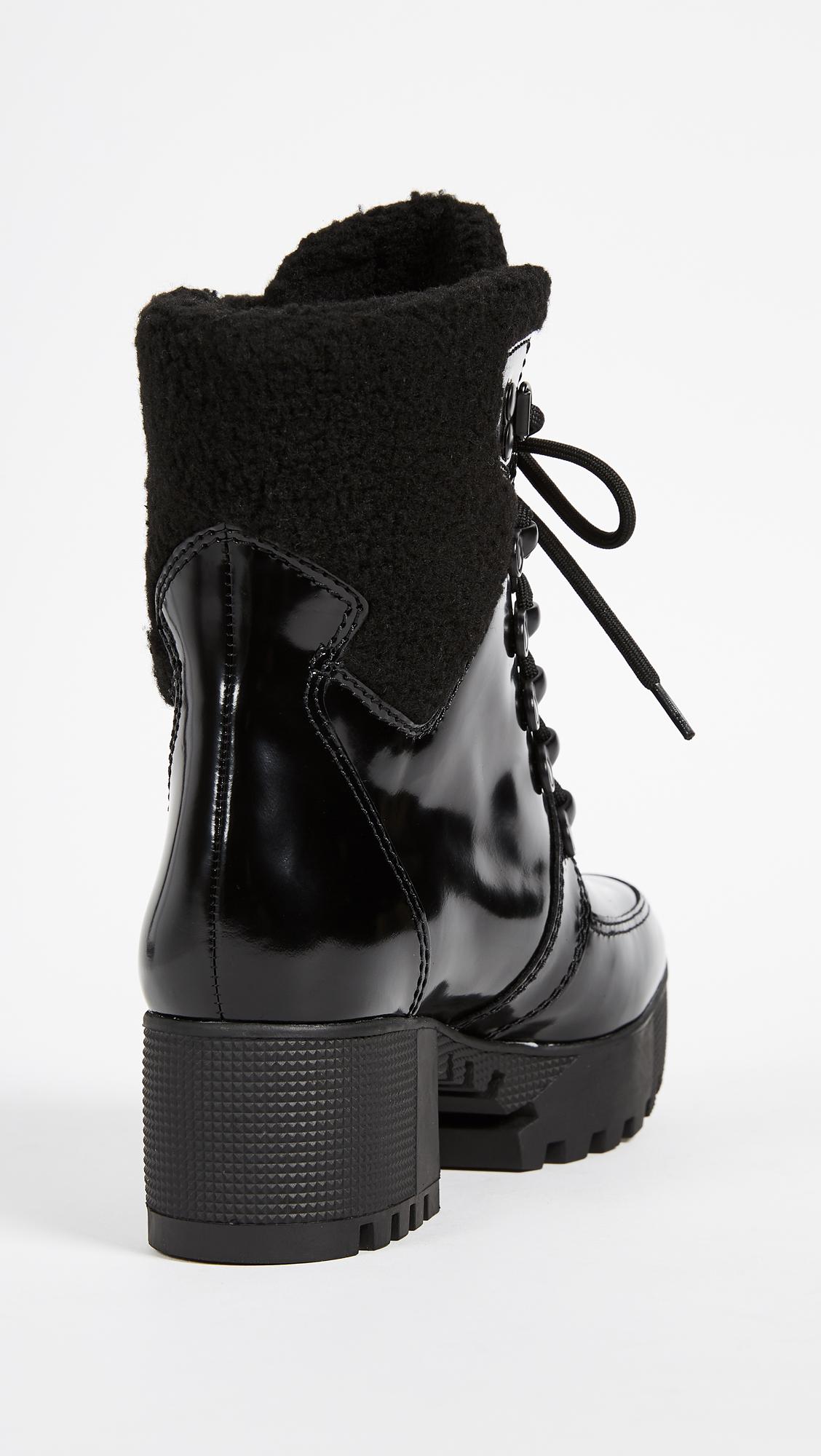 Kendall + Kylie Liza Women's Boots Black Multi Size 7 M