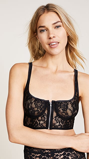KENDALL + KYLIE Square Neck Bra Top