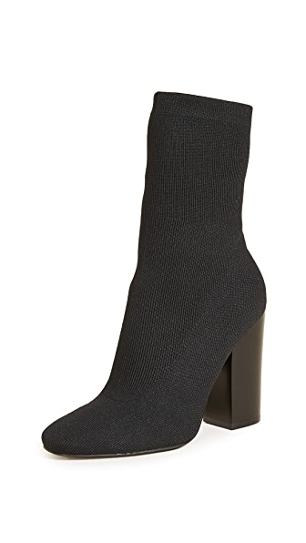 KENDALL + KYLIE Hailey Booties In Black