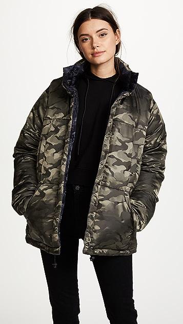KENDALL + KYLIE Reversible Puffer Coat