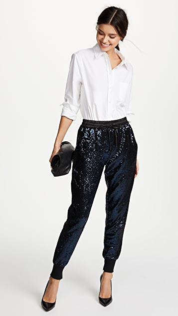 KENDALL + KYLIE Sequin Joggers
