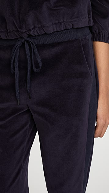 KENDALL + KYLIE Velour Joggers