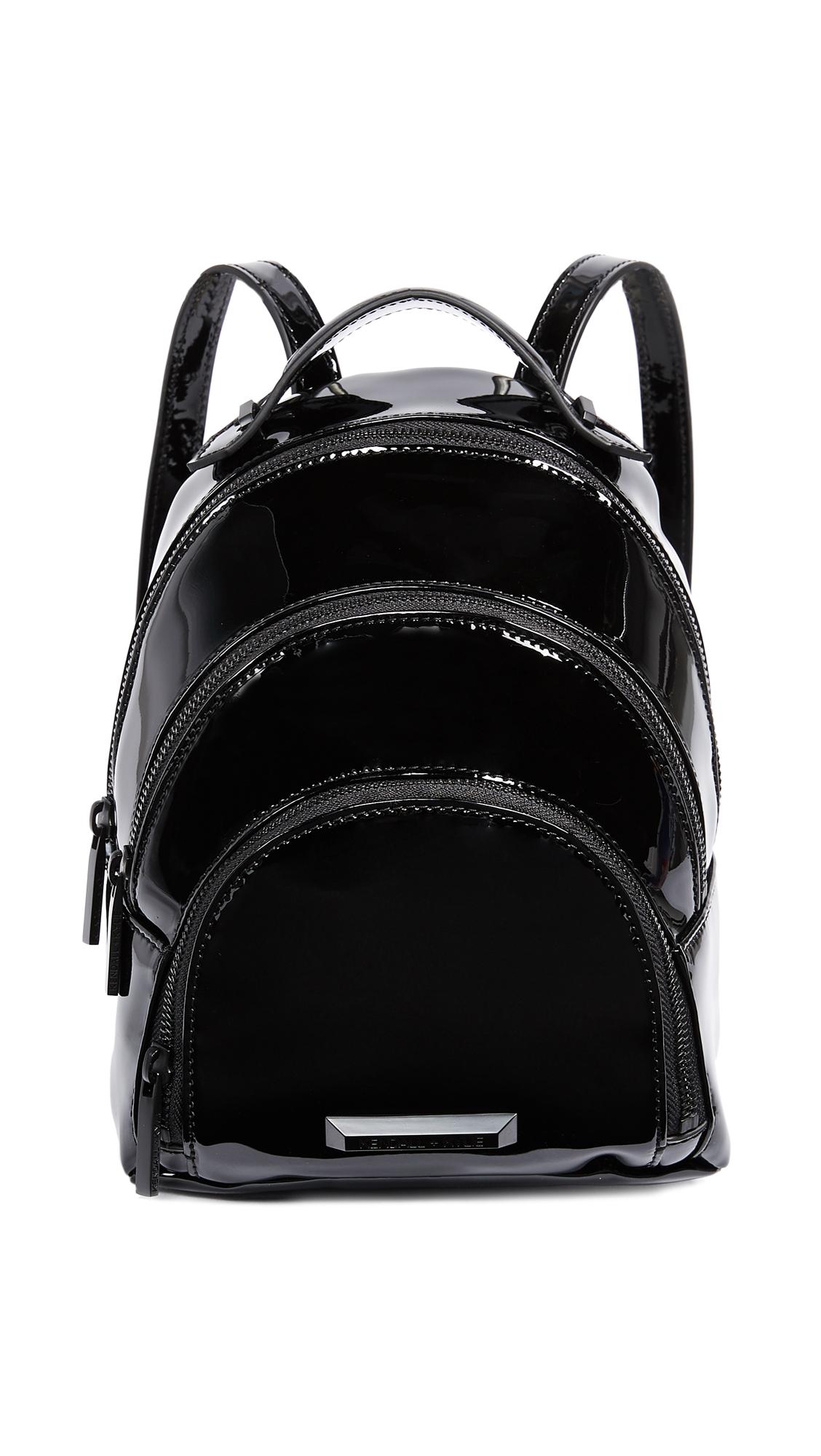 KENDALL + KYLIE Sloane Mini Backpack - Black Patent