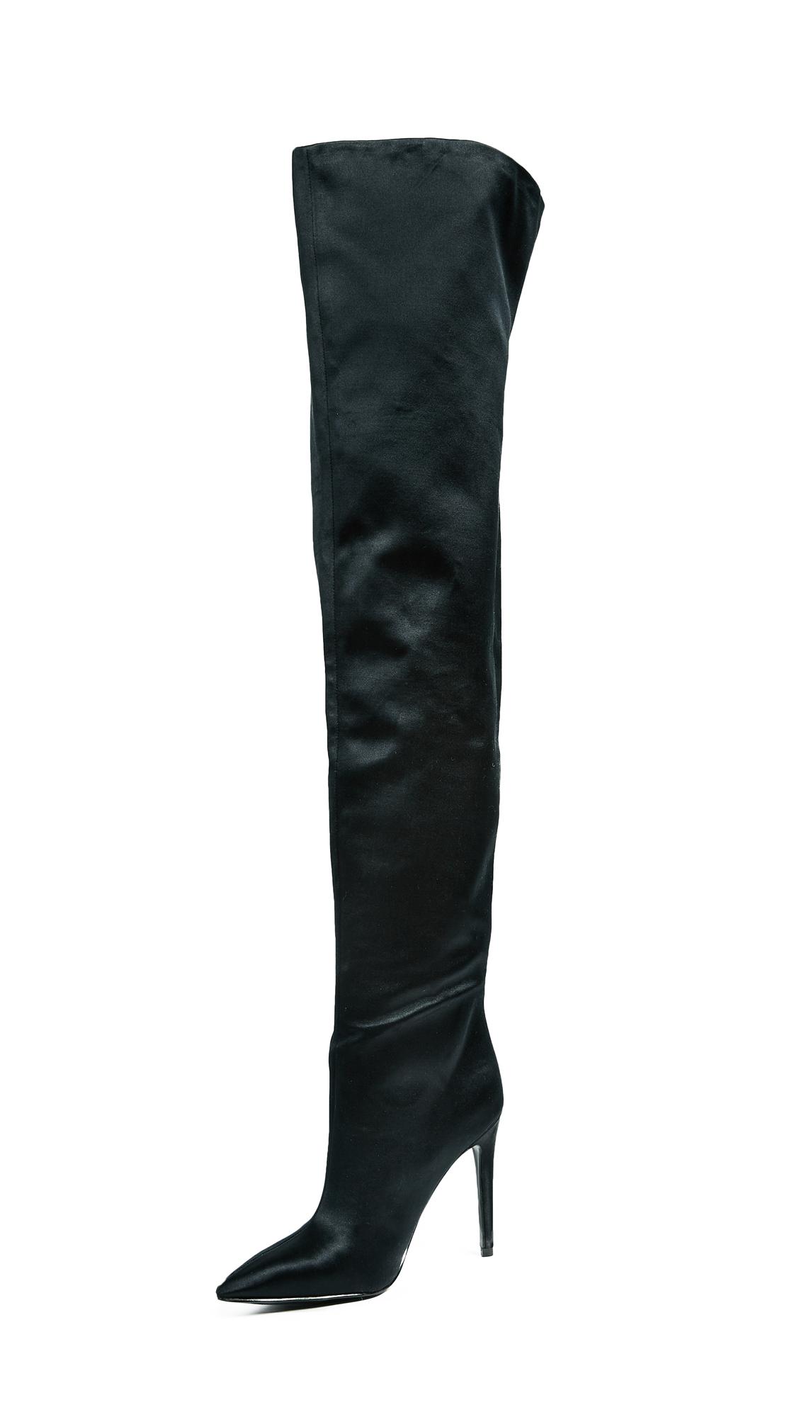 KENDALL + KYLIE Alexxa OTK Boots - Black