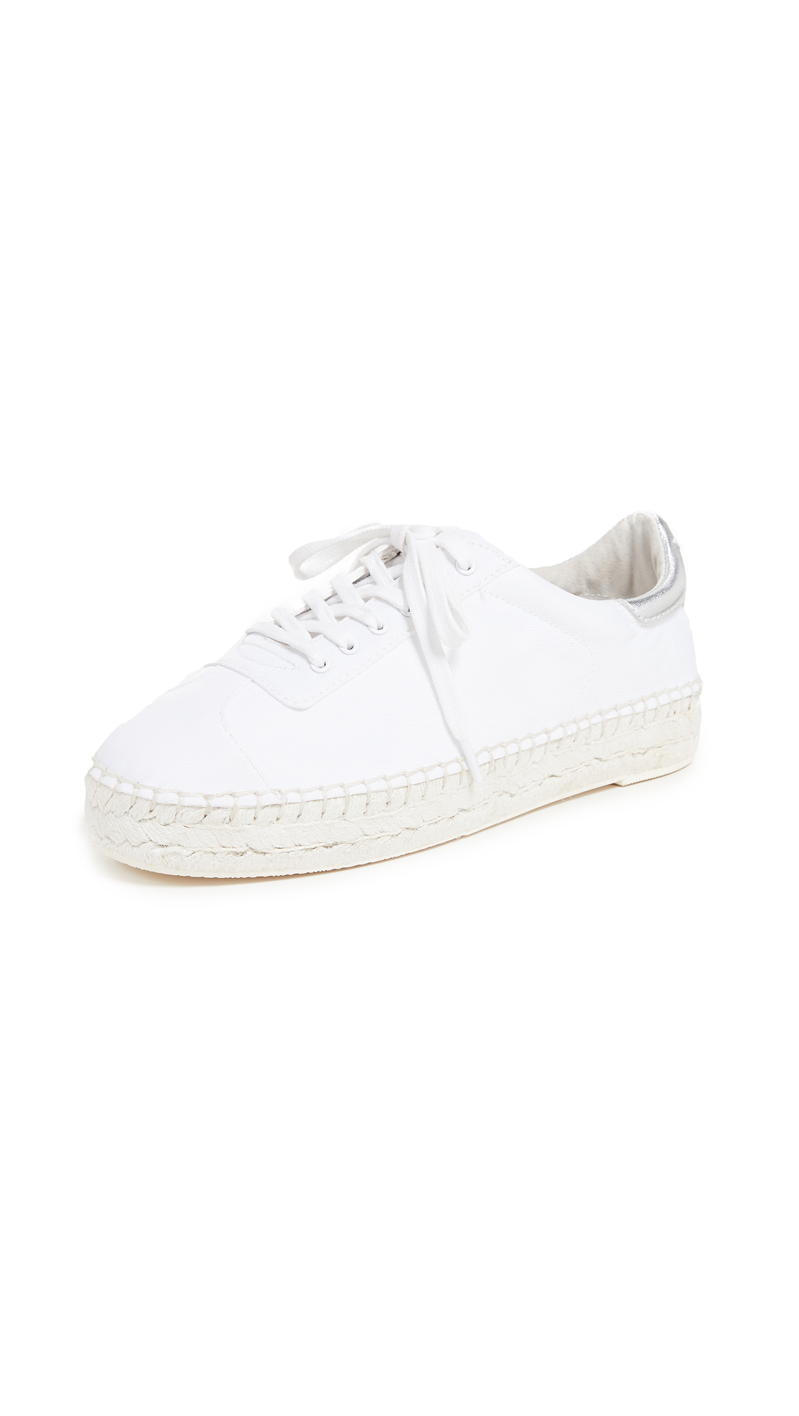 KENDALL + KYLIE James Espadrille Sneakers - White