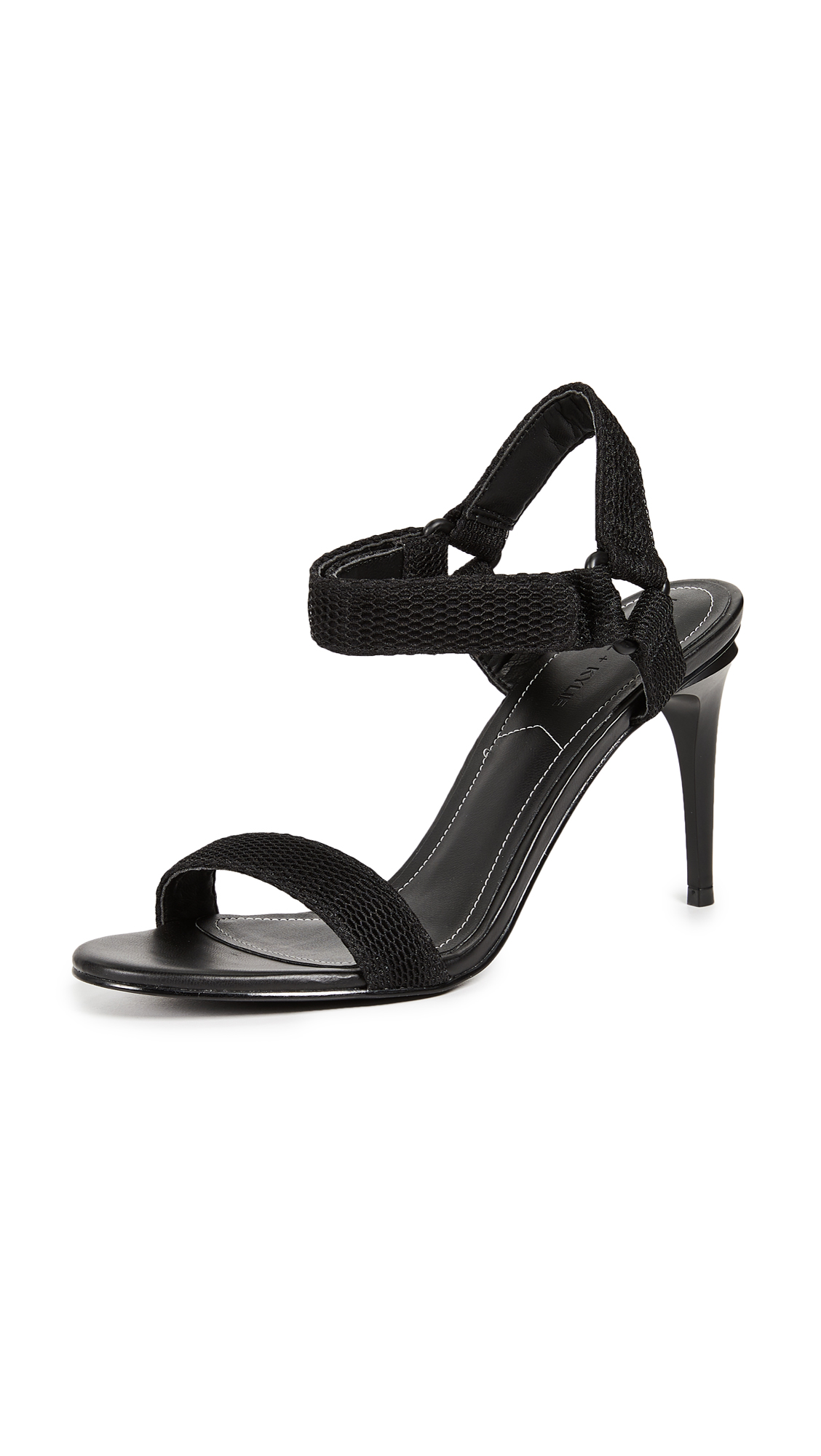 KENDALL + KYLIE Maeve Ankle Strap Sandals - Black