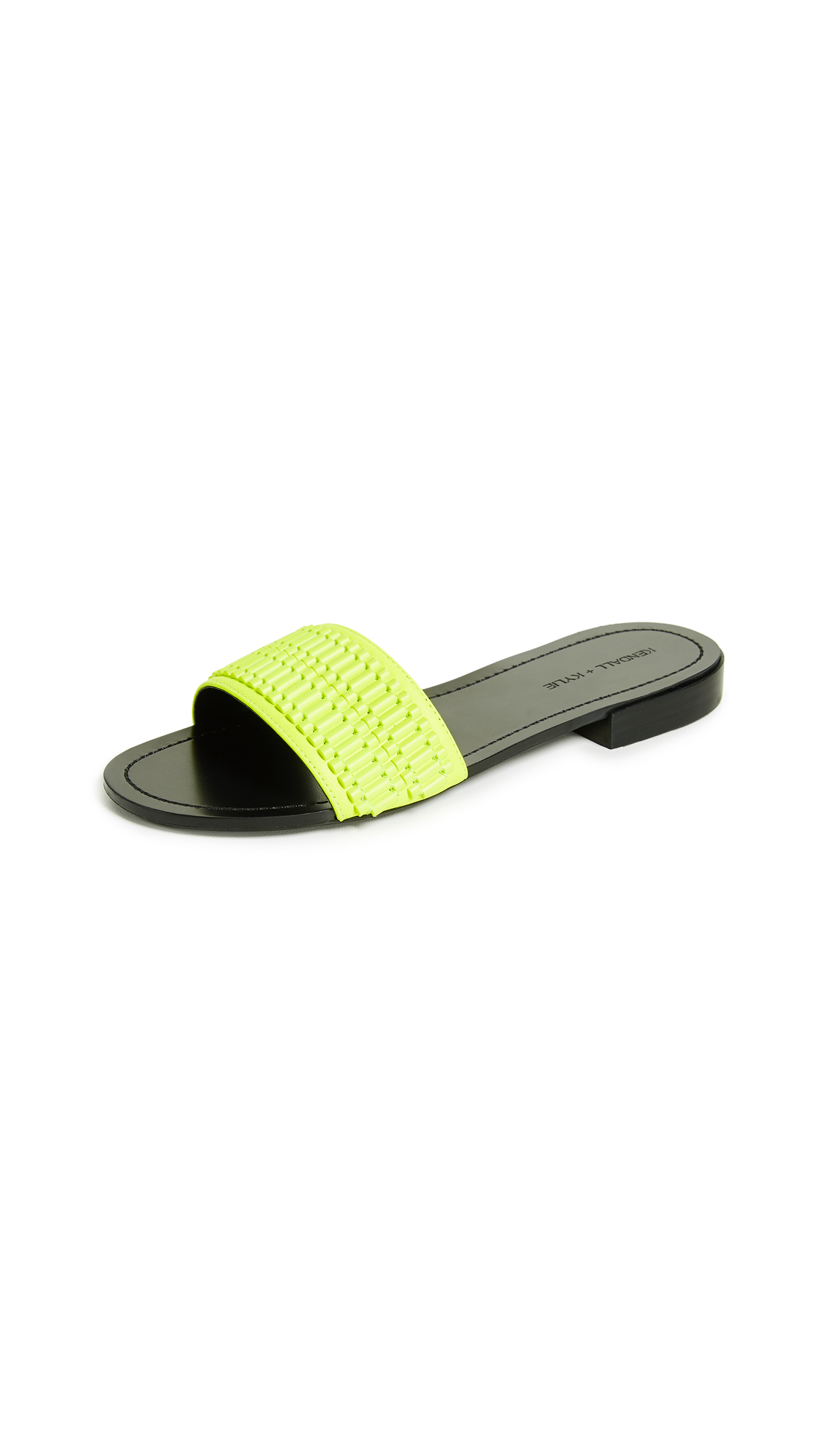 KENDALL + KYLIE Kennedy Slides - Fluo Yellow
