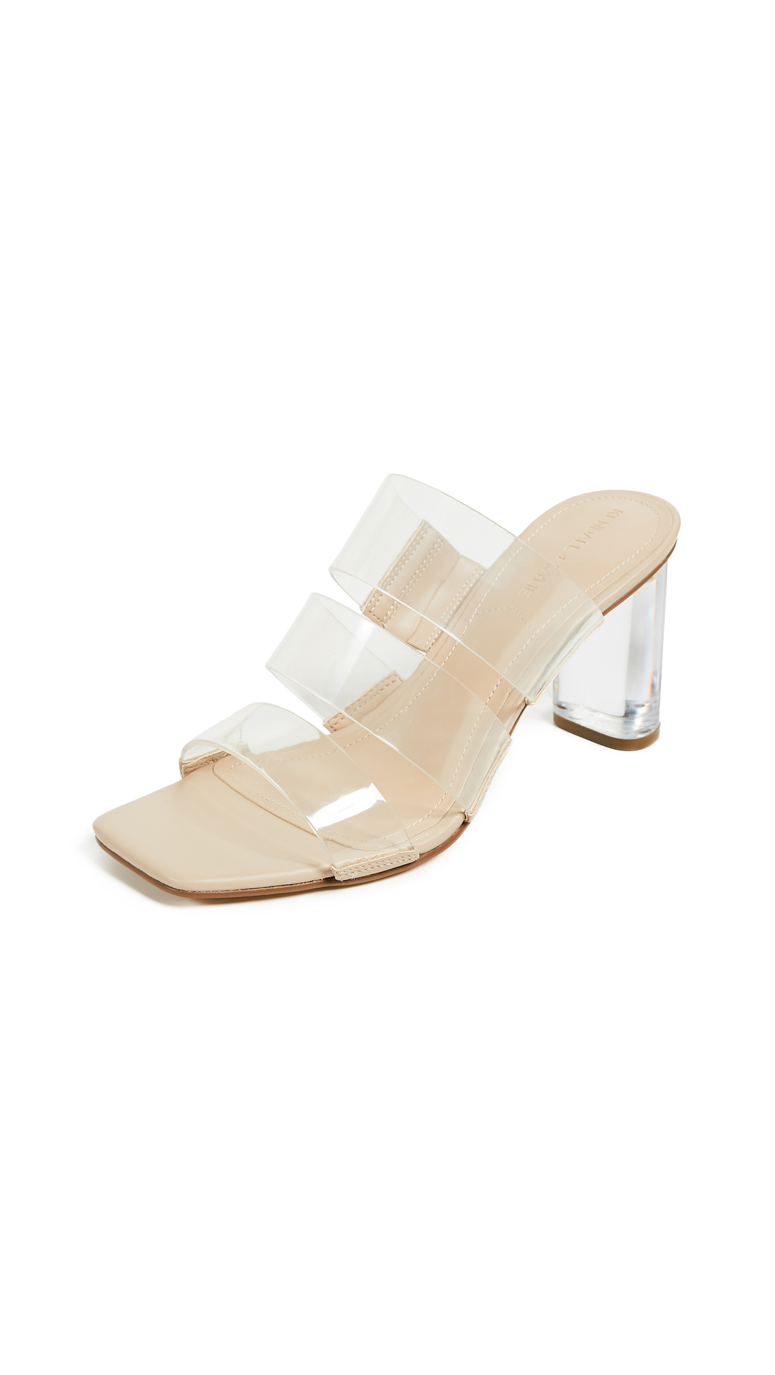 KENDALL + KYLIE Leila Sandals - Clear