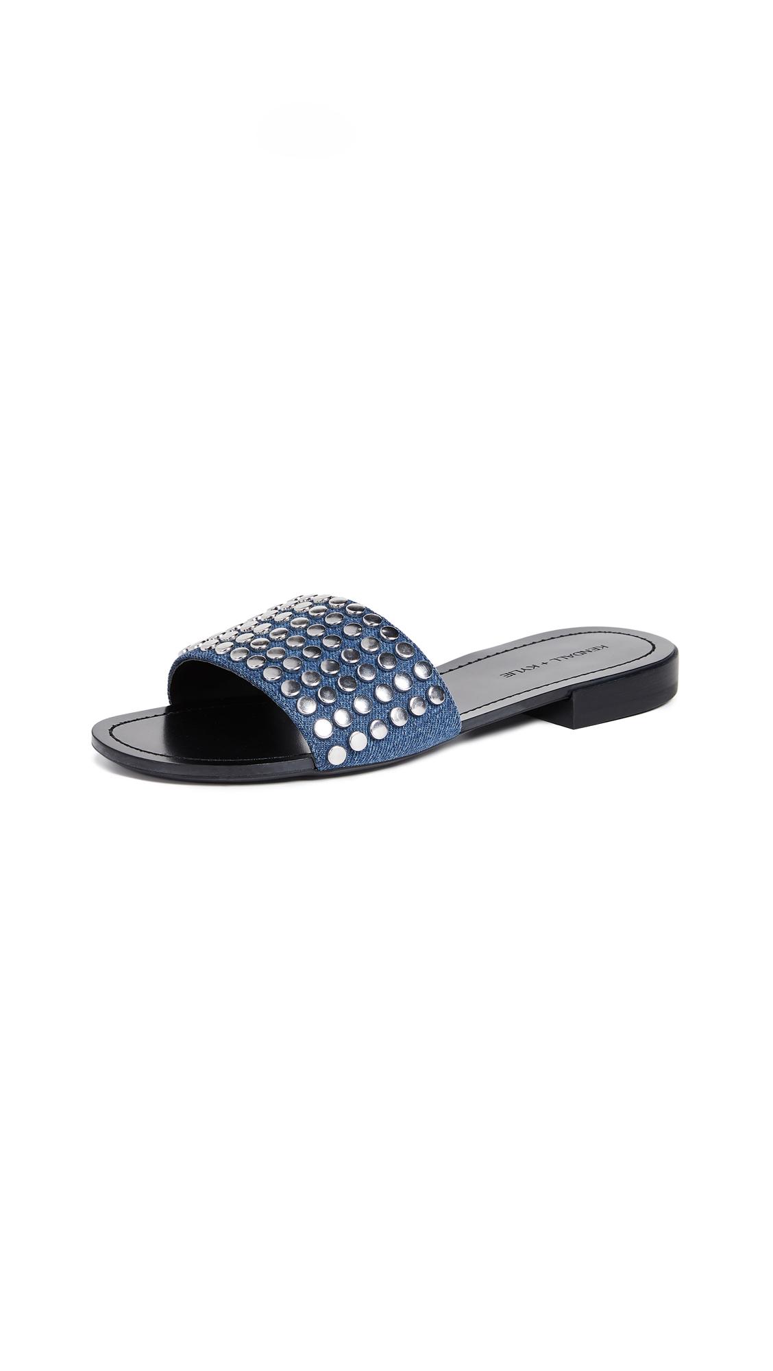 Kelsy Slide Sandal, Dark Blue