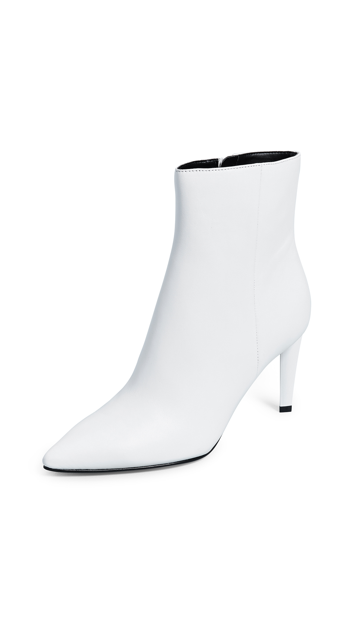 KENDALL + KYLIE Zoe Point Toe Booties - Ivory
