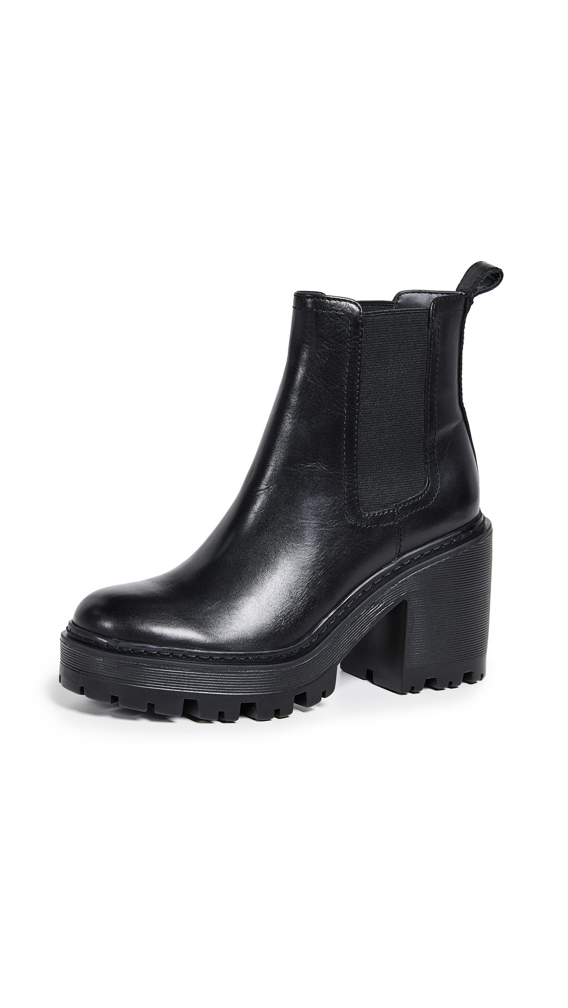 KENDALL + KYLIE Jett Chelsea Platform Booties - Black