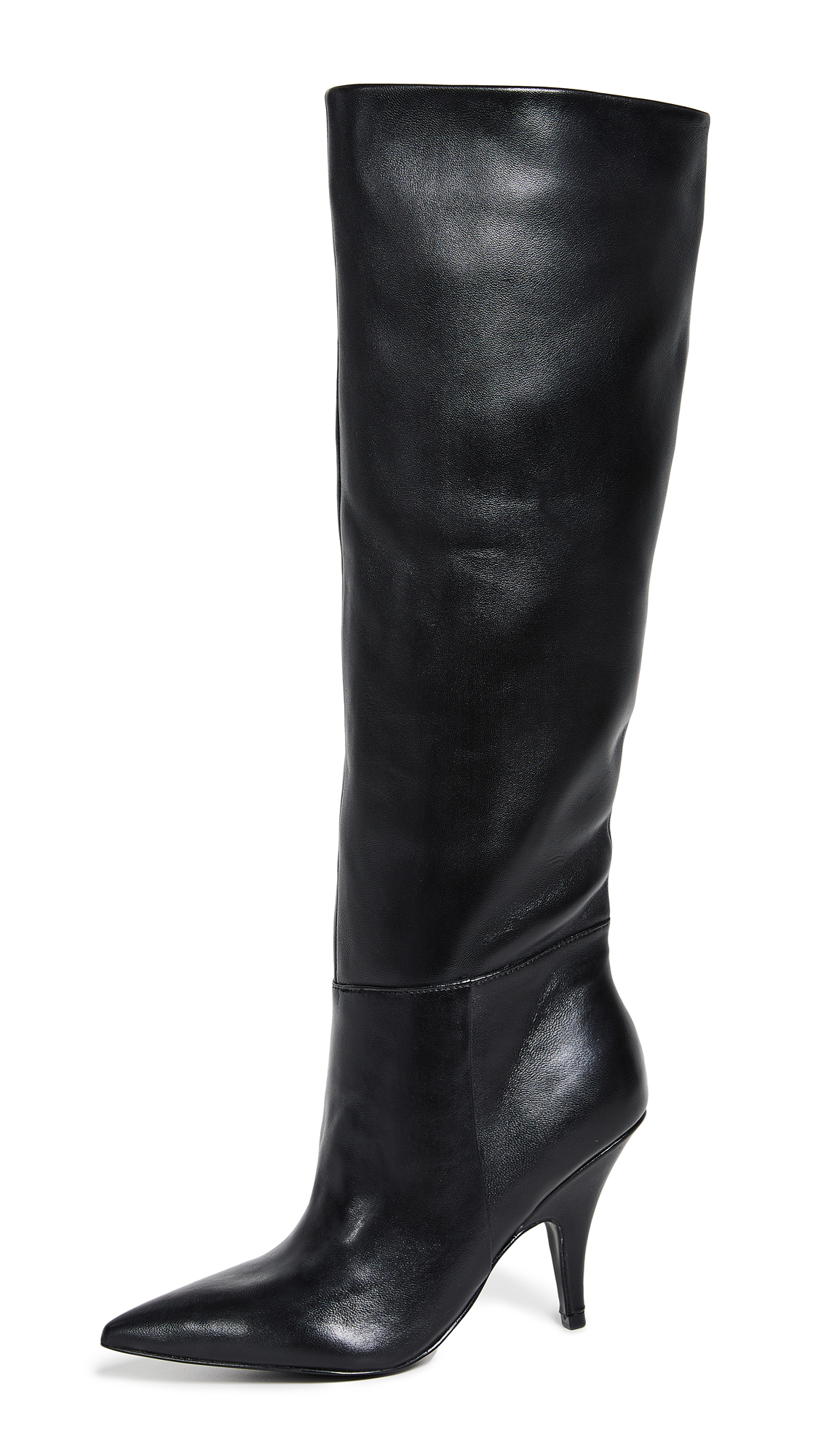 KENDALL + KYLIE Calla Point Toe Boots - Black