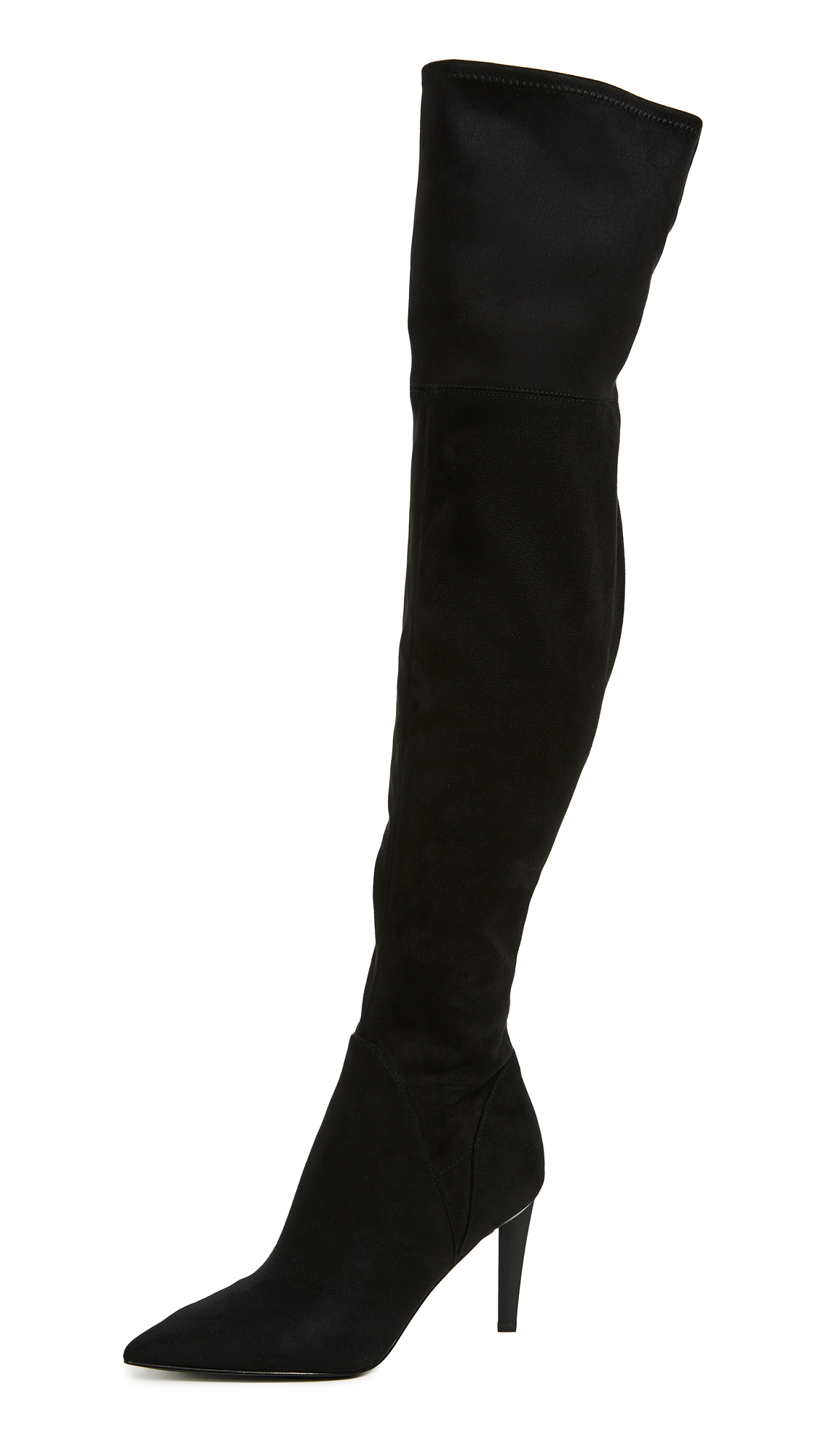 KENDALL + KYLIE Zoa Over the Knee Boots - Black