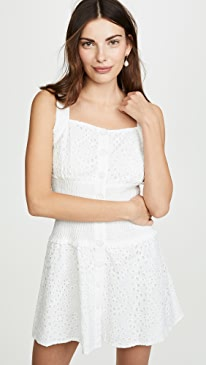 220692fc08b5 KENDALL + KYLIE. Broderie Anglaise Eyelet Dress