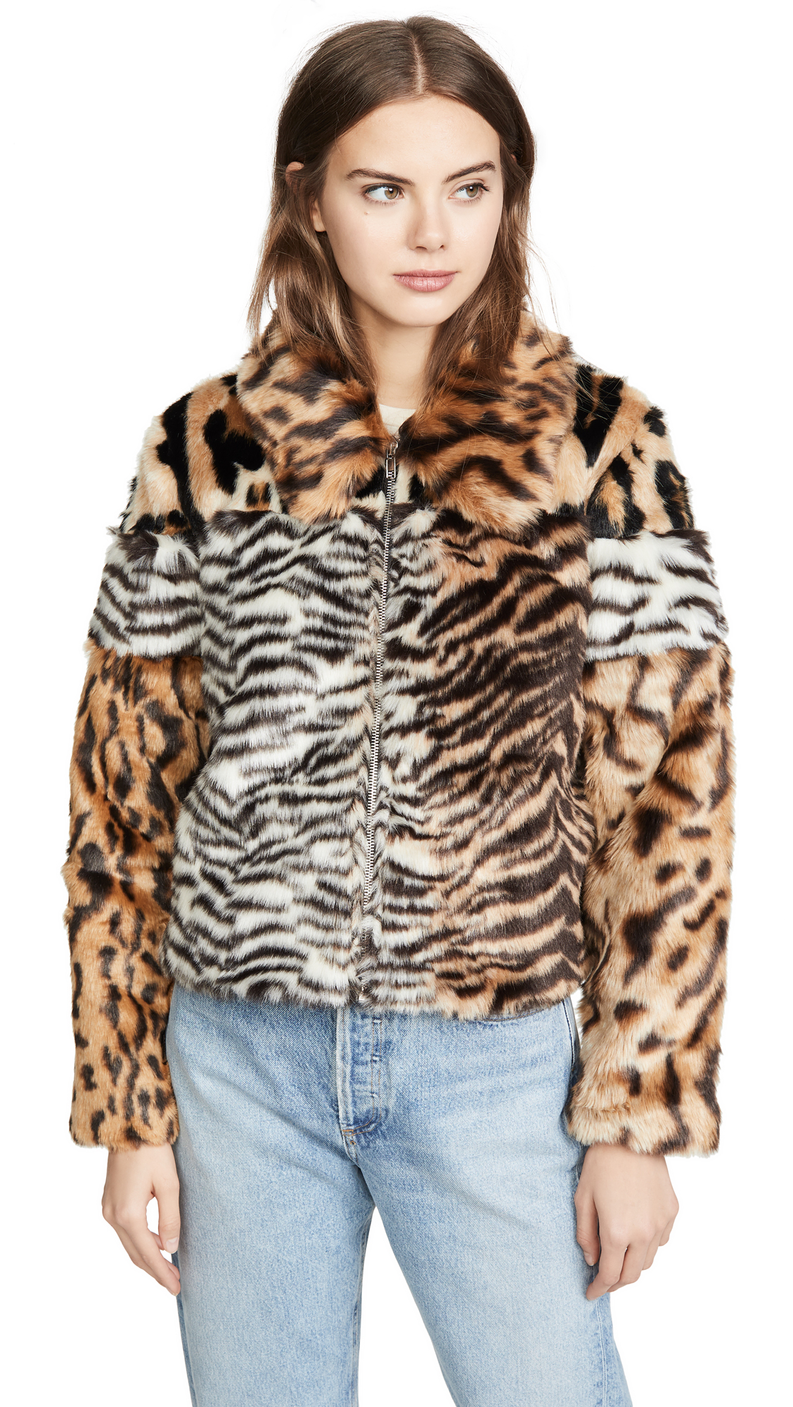 Buy KENDALL + KYLIE Studio 54 Faux Fur Jacket online beautiful KENDALL + KYLIE Jackets, Coats, Down Jackets