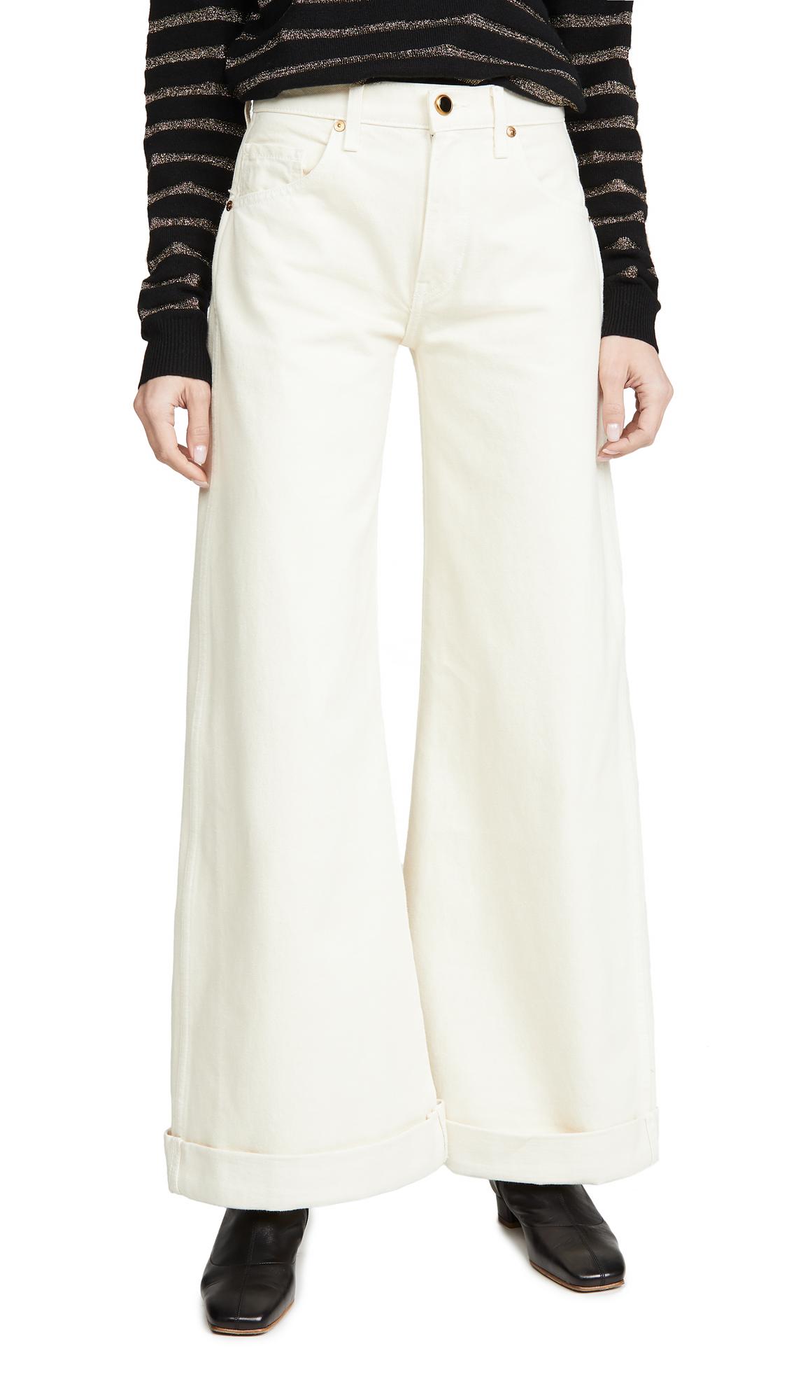 Buy Khaite online - photo of Khaite Noelle Jeans
