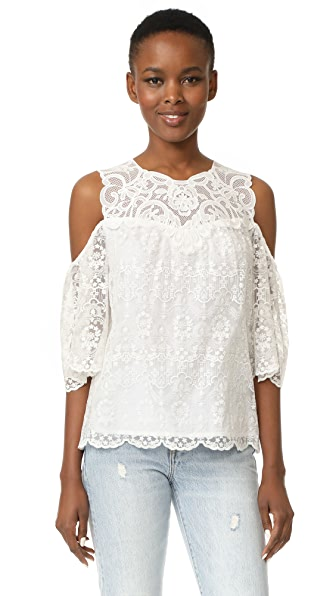 Kobi Halperin Klarissa Blouse In White