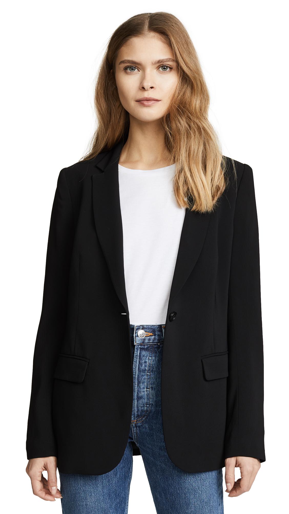 KOBI HALPERIN Misha One-Button Jacket in Black