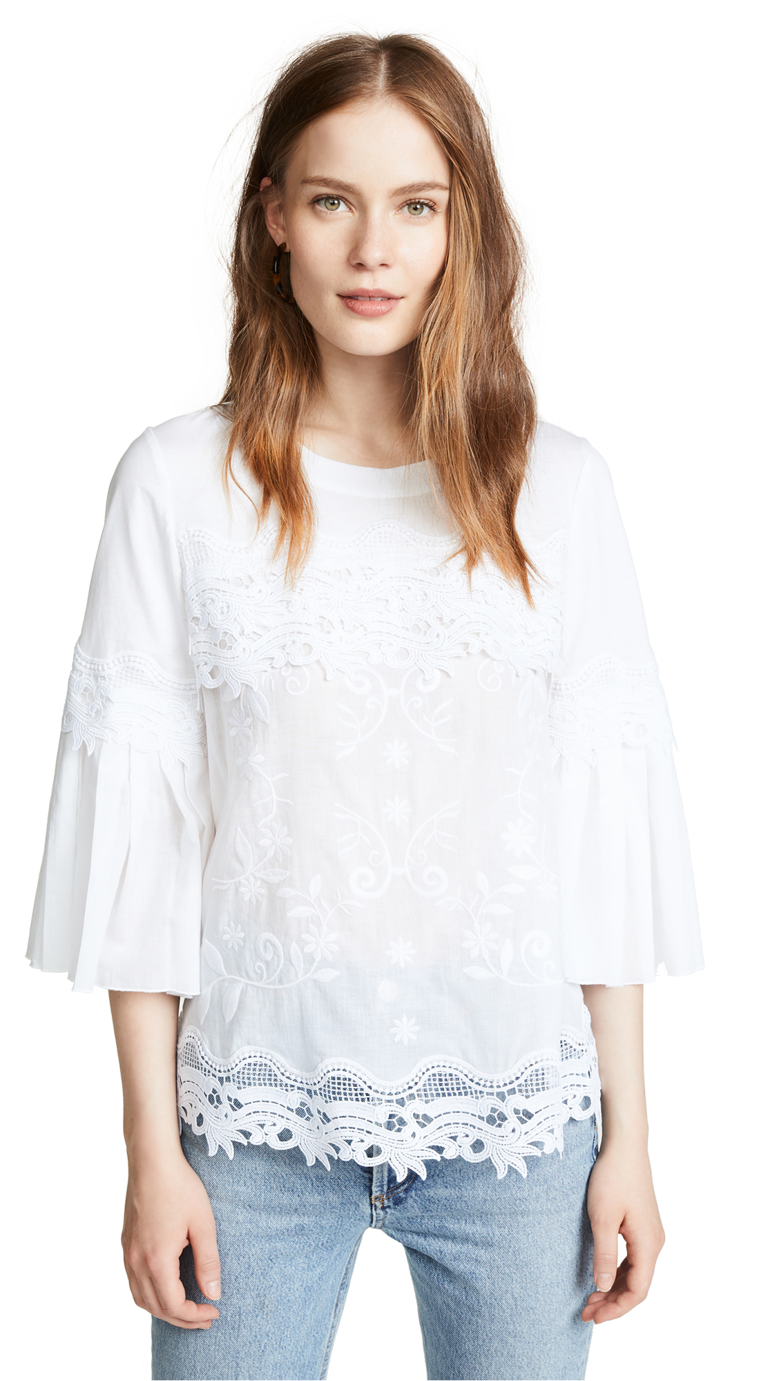 Kobi Halperin Indira Blouse In White
