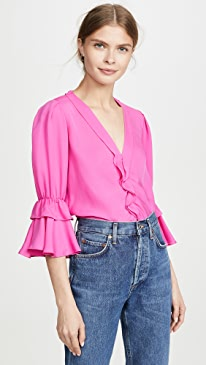 bf116265ef85d Blouses With Ruffles | SHOPBOP