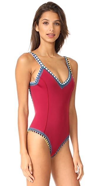 Kiini Soley Scoop Back Maillot