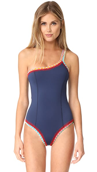 Kiini TASMIN One Shoulder Swimsuit