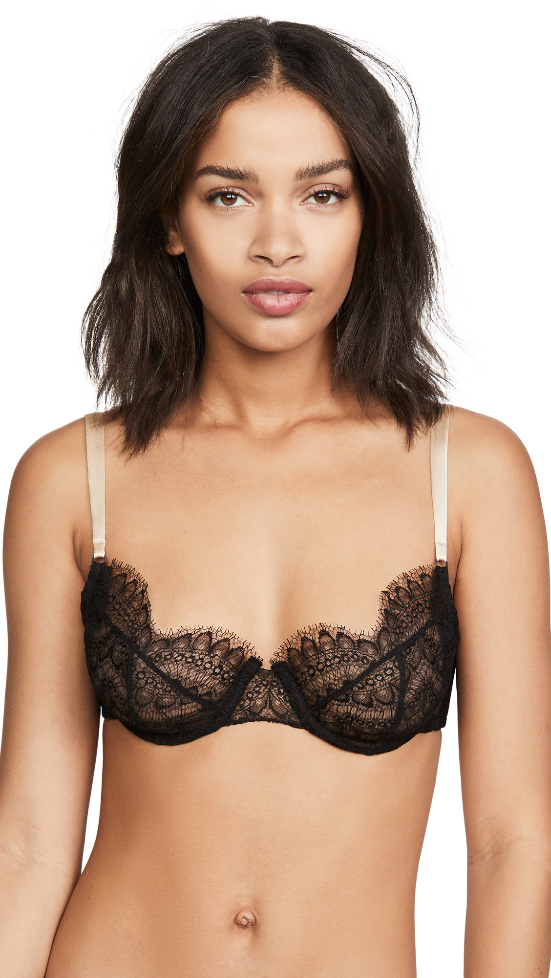 Buy Kiki De Montparnasse online - photo of Kiki De Montparnasse All Over Lace Demi Bra
