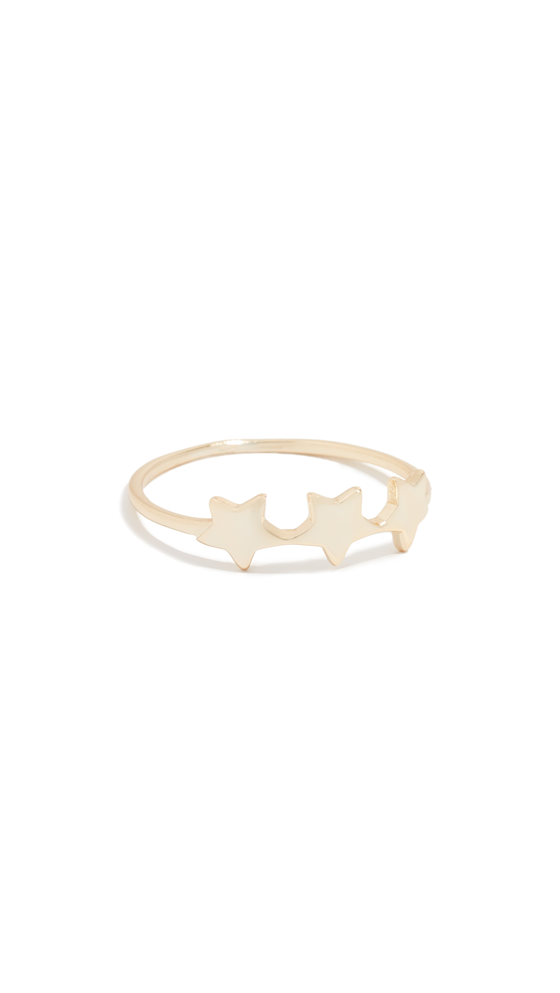 KINDRED Star Ring in Yellow Gold