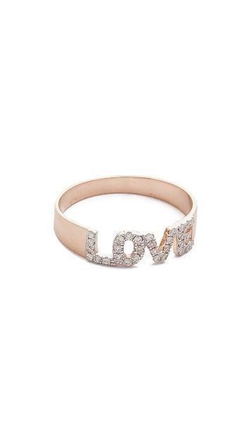 Kismet by Milka 14k Gold Love Ring