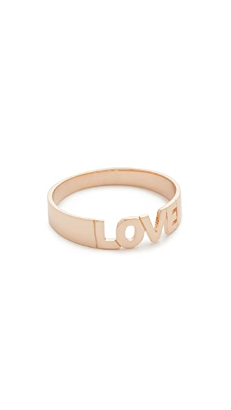 Kismet by Milka Love Ring - Rose Gold