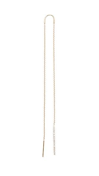 Kismet by Milka Lumiere Single Earring