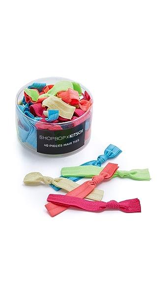Kitsch Neon Hair Tie Kan