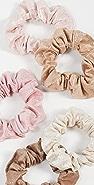 Kitsch Metallic Scrunchies