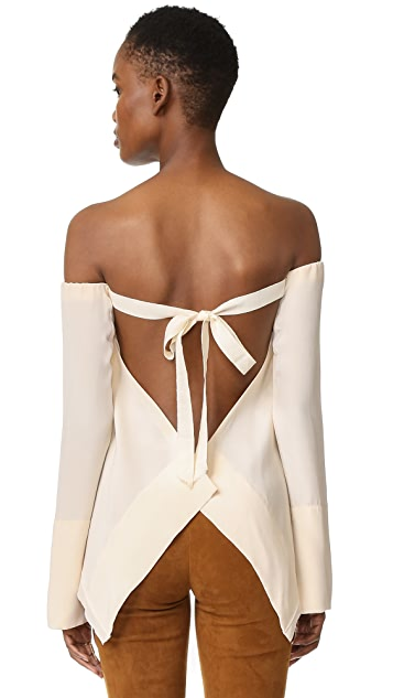 KITX Susepnded Backless Top