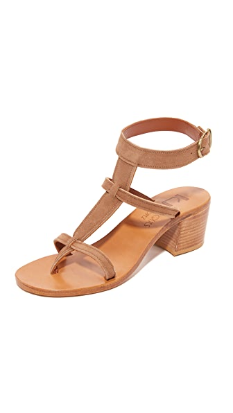 K. Jacques Christobal City Sandals - Velam Mink