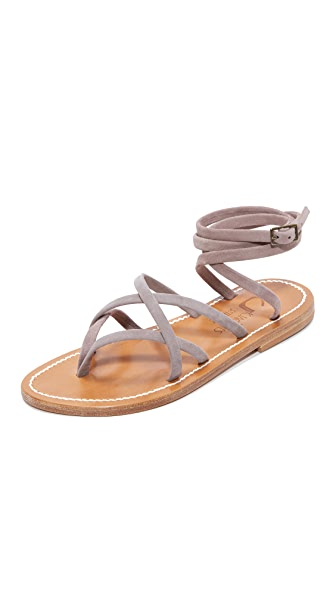 K. Jacques Zenobie Wrap Sandals
