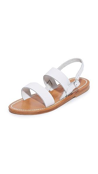 K. Jacques Barigoule Sandals - Pul Blanc