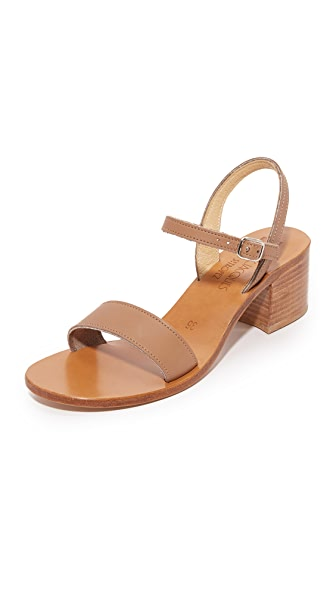 K. Jacques Alegria City Sandals - Pul Taupe