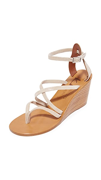 K. Jacques Heloise Sandals - Tejus Sable