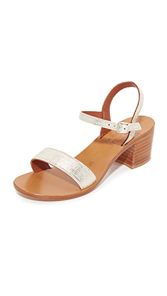 K. Jacques Alegria City Sandals - Rey Blond