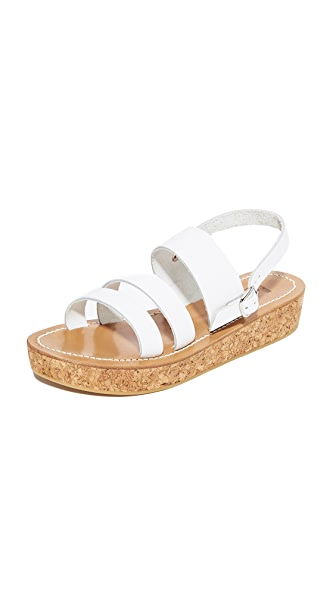 K. Jacques Stavelot Flatforms - Pul Blanc
