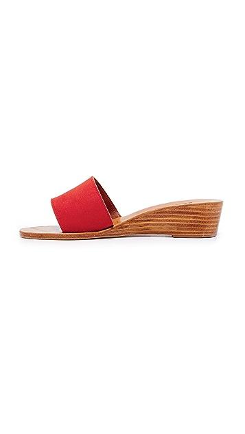 K. Jacques Perla Wedge Slides