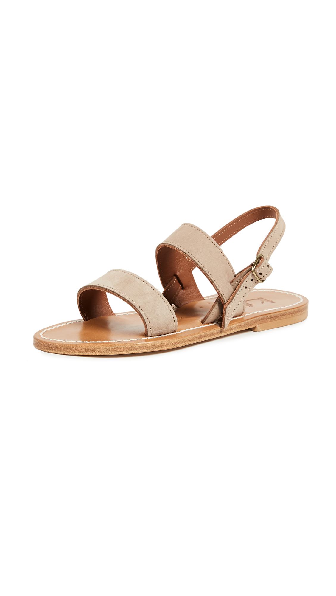 K. Jacques Barigoule Sandals - Nubuck Crosta