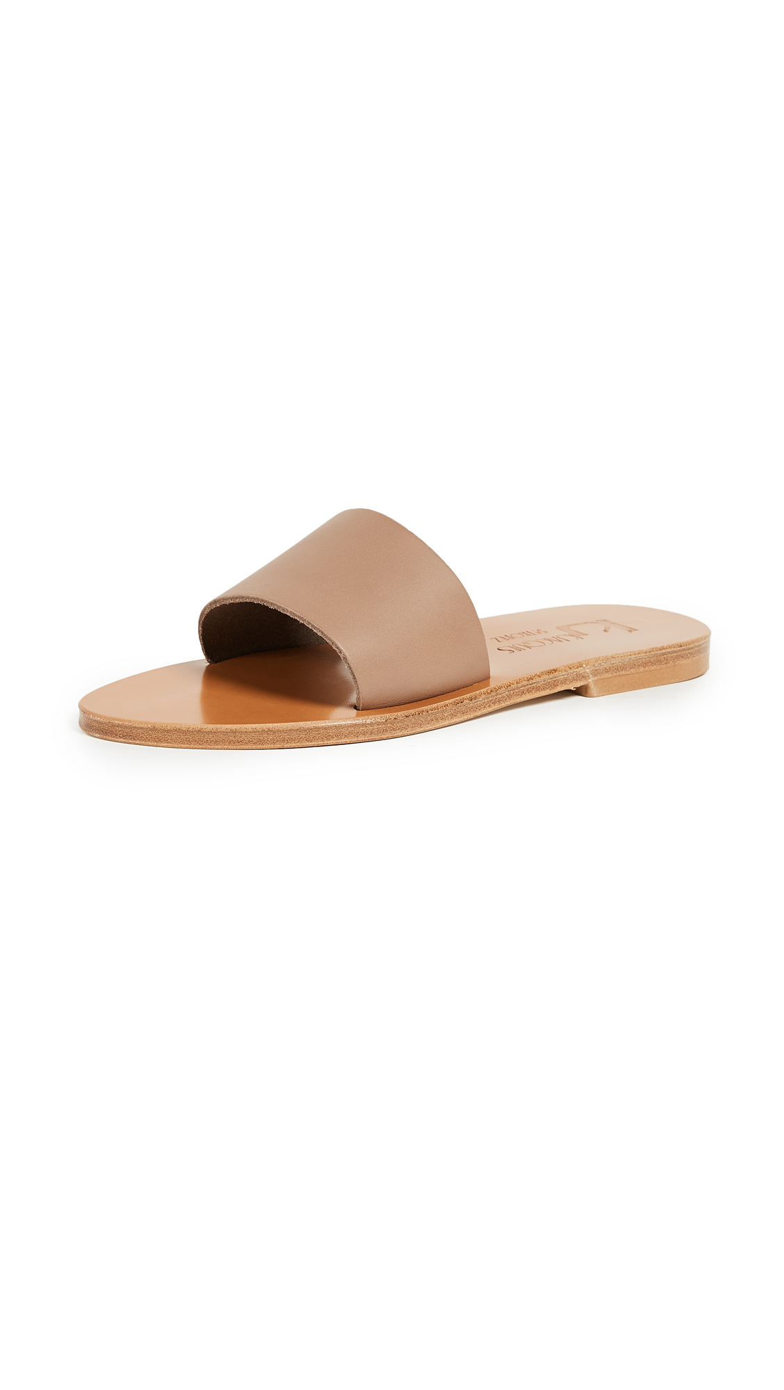 K. Jacques Arezzo Slides - Pul Taupe