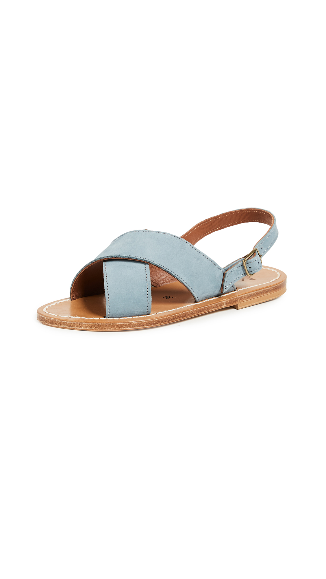 K. Jacques Osorno Crisscross Sandals